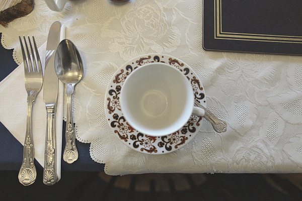 Tea cup and saucer - Picture by York Place Studios
