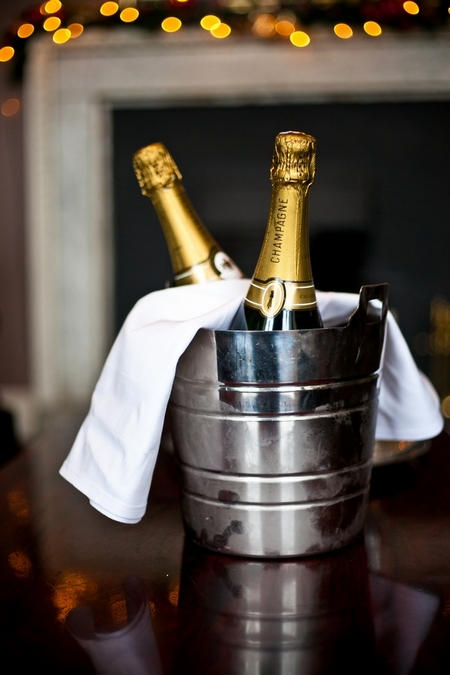 Champagne in ice bucket - Picture by Anneli Marinovich Photography