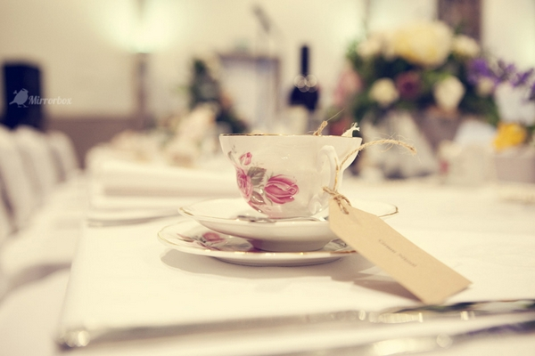 Vintage china teacup - Picture by Mirrorbox Photography