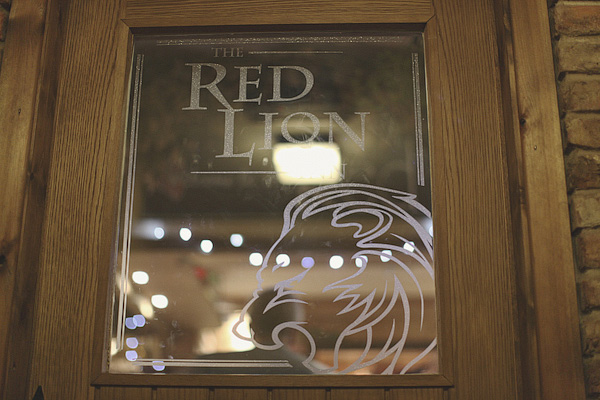 The Red Lion pub door - Picture by York Place Studios