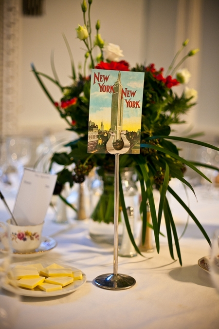 New York New York wedding table sign - Picture by Anneli Marinovich Photography