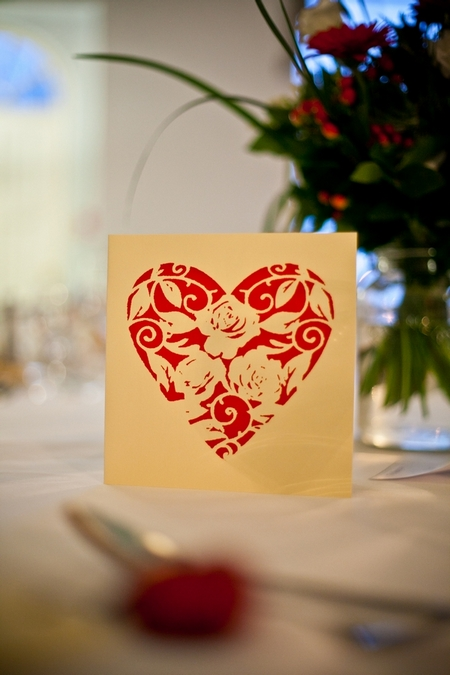 Red heart card - Picture by Anneli Marinovich Photography