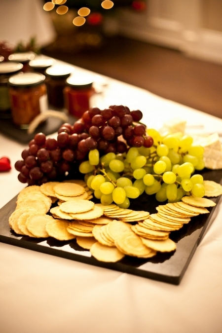 Grapes and cheese crackers - Picture by Anneli Marinovich Photography