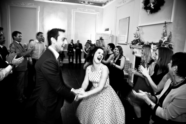 Bride laughing during dance - Picture by Anneli Marinovich Photography