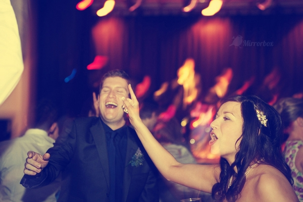 Bride dancing at wedding - Picture by Mirrorbox Photography
