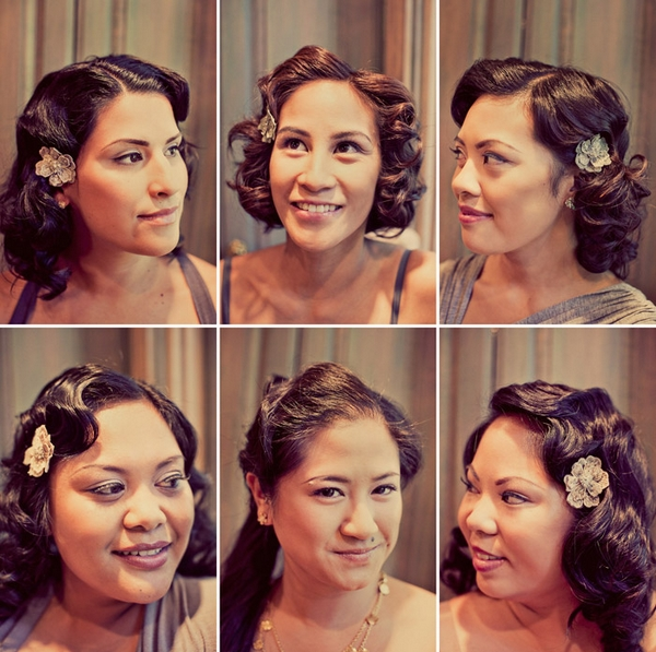 Bridesmaid headshots - Picture by Paco and Betty