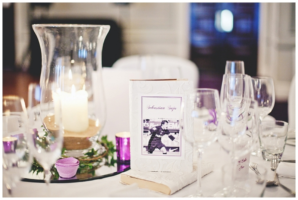 Wedding table accessories - Picture by Shell de Mar