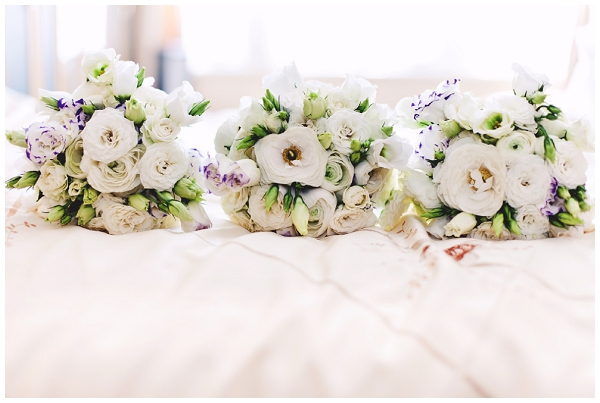 3 wedding bouquets - Picture by Shell de Mar