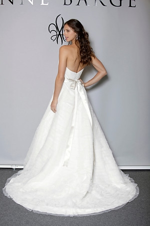 372a7ae5ddf Picture of Back of Anya Wedding Dress - Anne Barge Blue Willow Bride Fall  2012 Collection