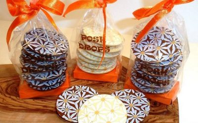 Chocolate Posh Drops from Choklet