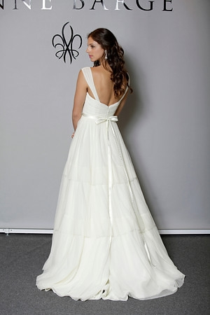 a78e378efb1 Picture of Back of Marigold Wedding Dress - Anne Barge Blue Willow Bride  Fall 2012 Collection