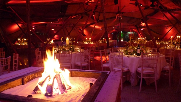 PapaKåta Tables Tables and Fire!