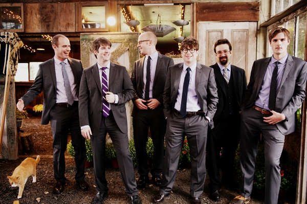 Groomsmen - Picture by Judy Pak Photography