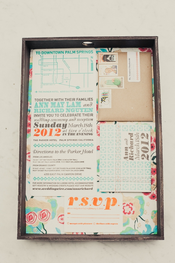 Wedding stationery - Picture by onelove photography