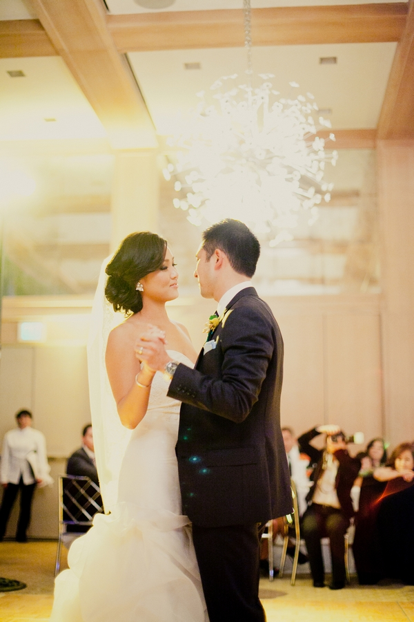Bride and groom dancing at wedding - Picture by onelove photography