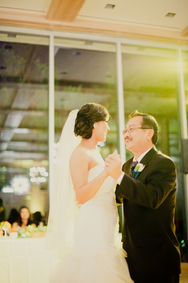 Bride dancing with father at wedding - Picture by onelove photography