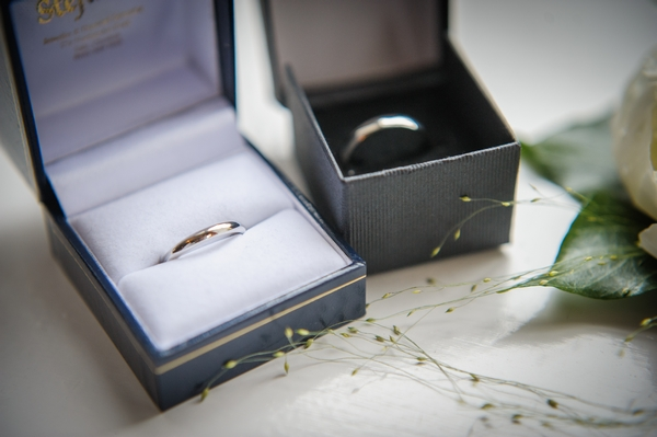 Wedding rings in boxes - Picture by Pixies in the Cellar