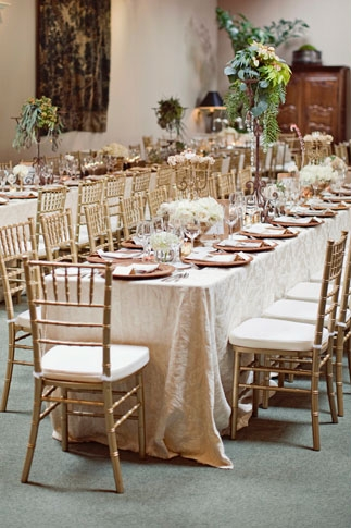 Elegant wedding table display - Picture by Joielala