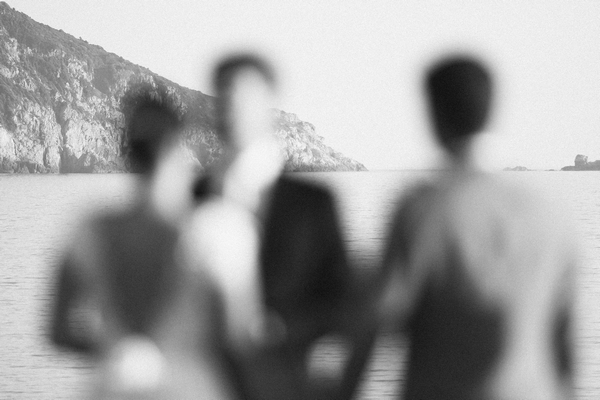 Wedding ceremony by sea in Corsica - Picture by DanielRM