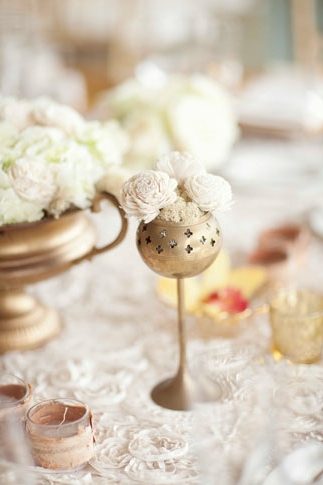 Wedding table detail - Picture by Joielala