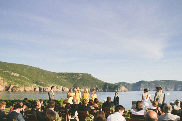 Outdoor wedding ceremony in Corsica - Picture by DanielRM