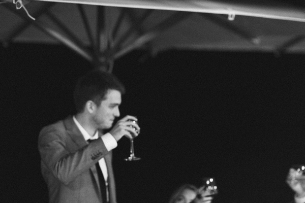 Best man raising a toast to bride and groom - Picture by DanielRM