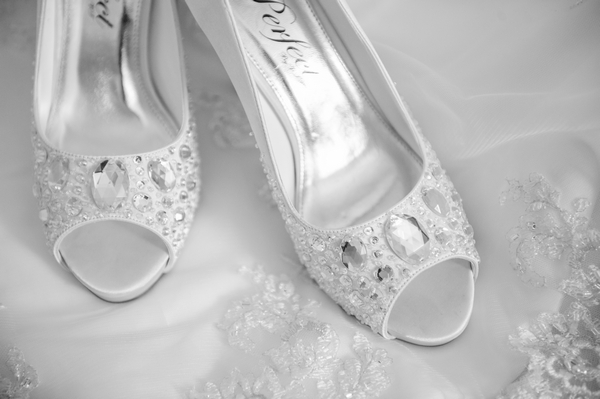 Wedding shoes - Picture by Pixies in the Cellar