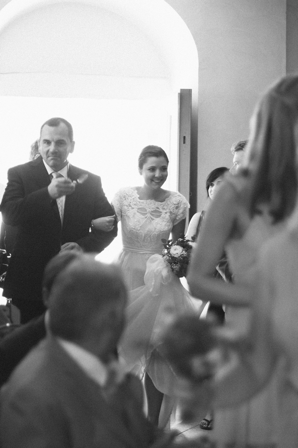 Father walking bride into wedding ceremony - Picture by DanielRM