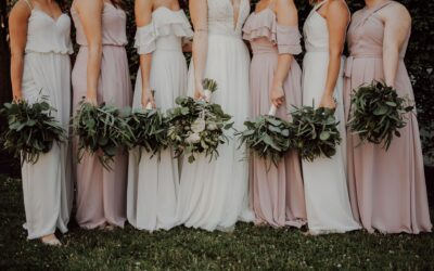 Choosing Bridesmaid Dresses to Suit Your Girls and Wedding Style