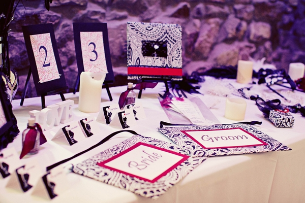 Gothic style wedding details - Gothic Wedding Photo Shoot at Browsholme Hall