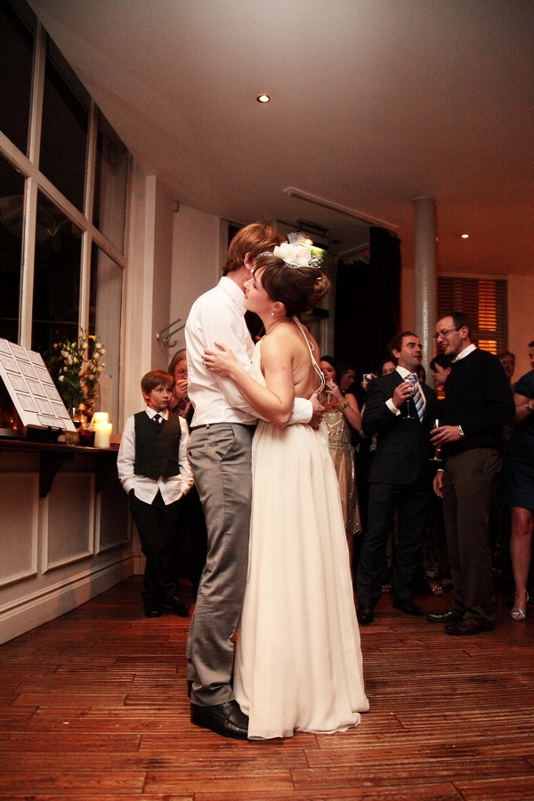 Bride and groom wedding dance - Picture by Rebecca Prigmore Photography