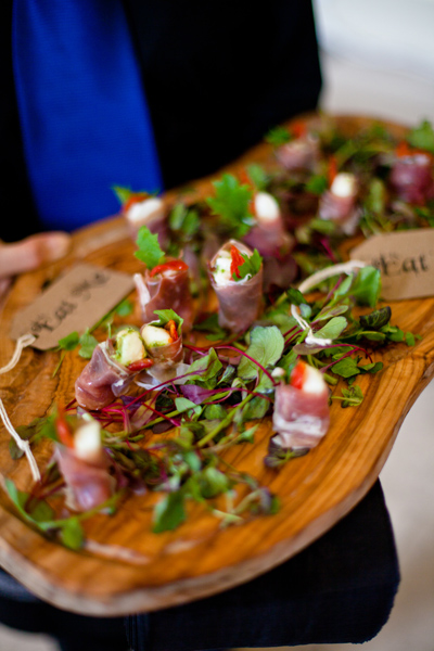 Canapes by Foster Event Catering - LoveLuxe Launch