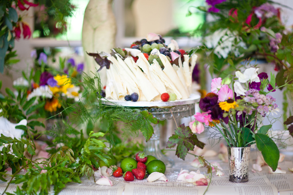 White chocolate shard cake - LoveLuxe Launch