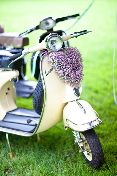 Vintage scooter - LoveLuxe Launch