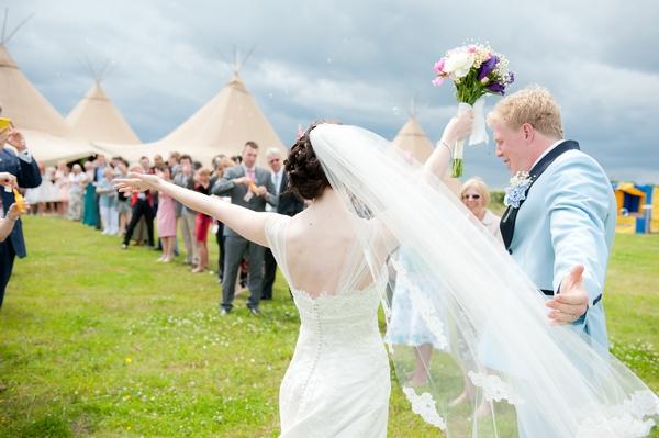 A 'Wedstock' Wedding in Hertfordshire