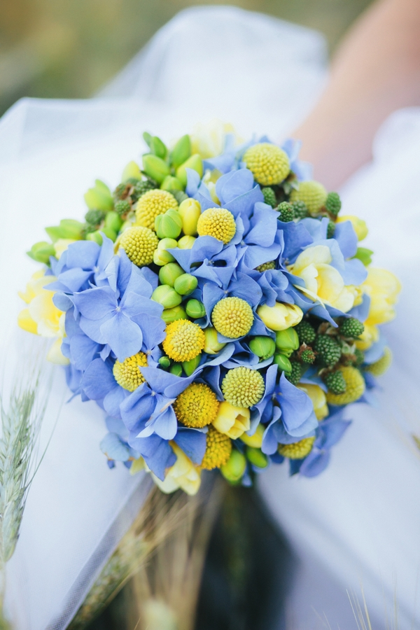 Spring bridal bouquet - A Spring Themed Wedding in Hungary
