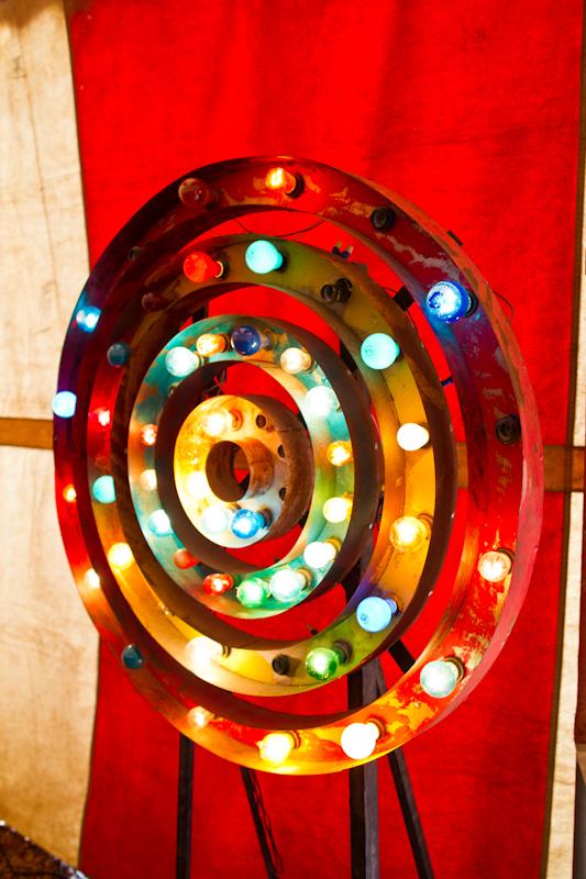 Circus light wheel