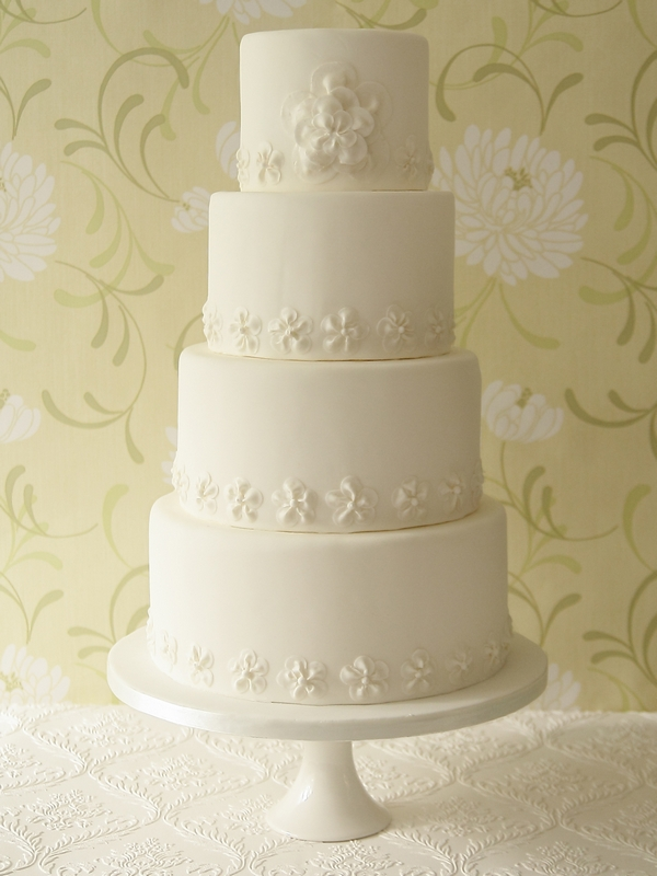 Cetelia Wedding Cake - The Abigail Bloom Cake Company 2013 Collection