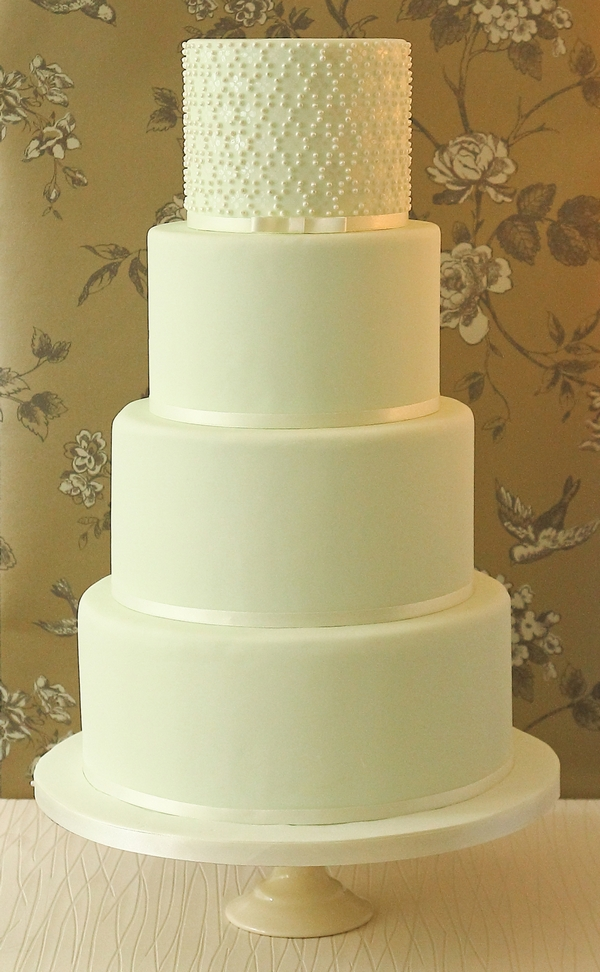 Christabel Wedding Cake - The Abigail Bloom Cake Company 2013 Collection