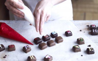 Biscuiteers Wedding Chocolates