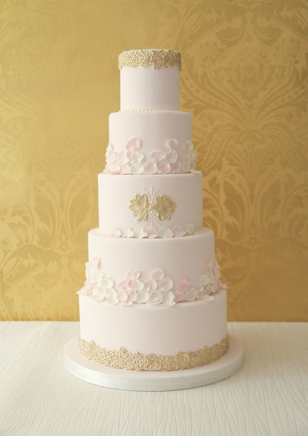 Olesia Wedding Cake - The Abigail Bloom Cake Company 2013 Collection