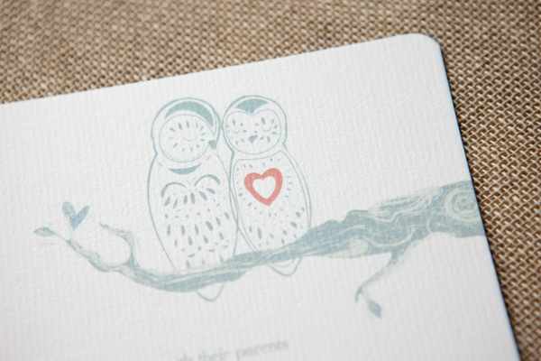 Owl Always Love You Wedding Stationery - Wedding in a Teacup