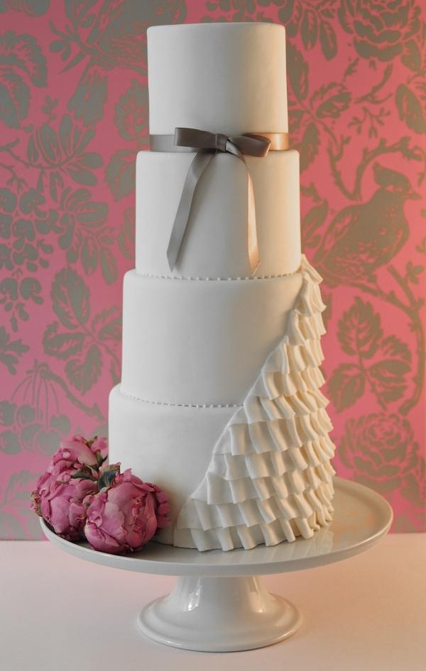 Paloma Wedding Cake - The Abigail Bloom Cake Company 2013 Collection