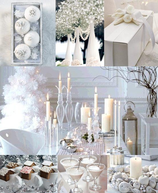 White Christmas Wedding Ideas