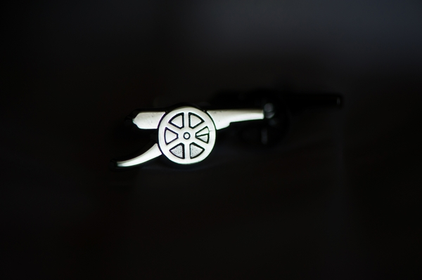 Cannon pin badge
