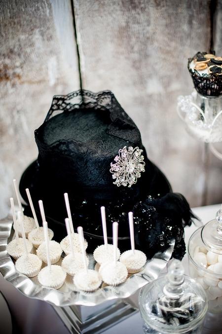 Black hat on table