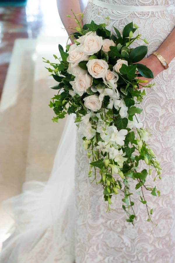 Bride's shower bouquet