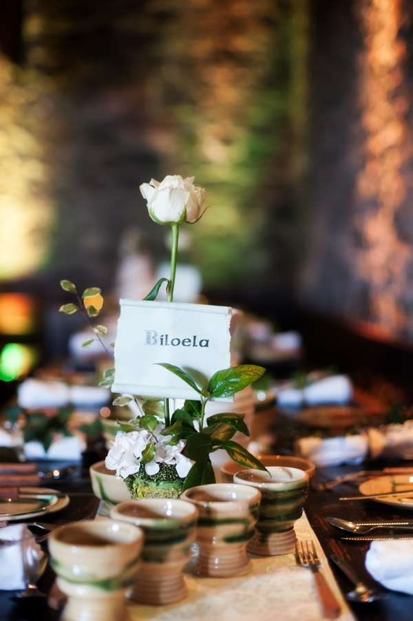 Medieval wedding table name