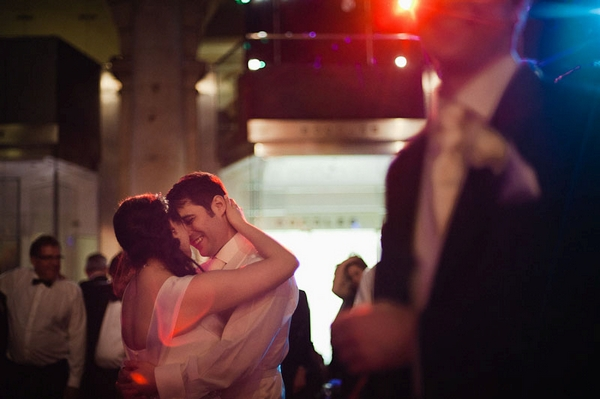 Bride and groom on dancefloor - Picture by Kristian Leven Photography
