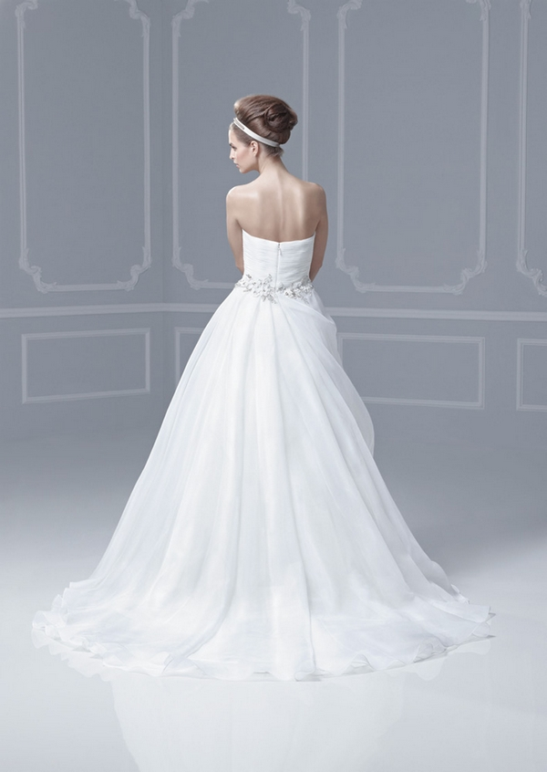 Florida back blue by enzoani 2013 collection the for Wedding dresses south florida